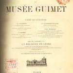 Traduit d'anglais en français et publié dans les Annales du Musée Guimet