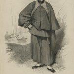 en vêtements traditionnels chinois