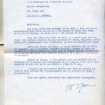Lettre de Th. Rau adressée à la Direction de la Société des missions
