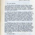 Première page du manuscrit d'Oscar Rau