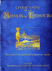Le livre d'or de la mission du Lesotho