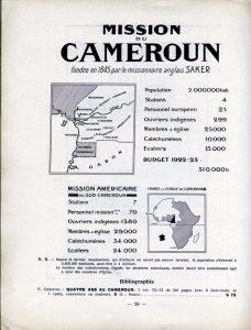 L'Atlas des missions : champ du Cameroun