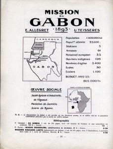 Champ de mission de la SMEP : le Gabon