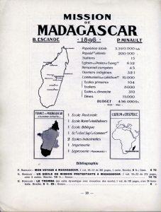 Atlas des missions : champ de Madagascar