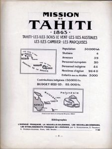 L'Atlas des missions : champ de Tahiti