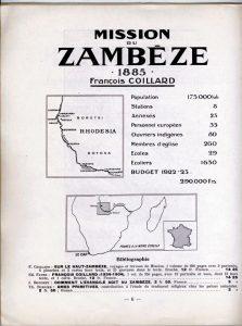L'Atlas des missions : champ du Zambèze