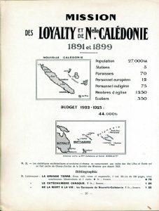 Atlas missionnaire : champ de la Nouvelle-Calédonie