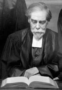 Le pasteur Wilfred Monod