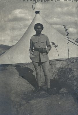 François Rakotoson, soldat malgache de l'armée d'Orient - 1919