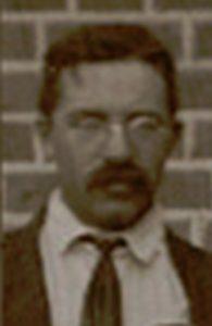 Frank Christol en 1914, encore au Zambèze