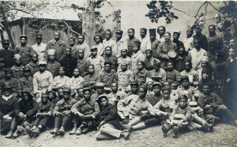 Soldats accueillis à Saint-Raphaël