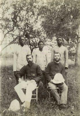 M. E. Allégret, Monsieur Teisseres, Rossatanga, Ombagho et…