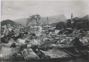 Bombardement de Papeete, Tahiti - 22 septembre 1914