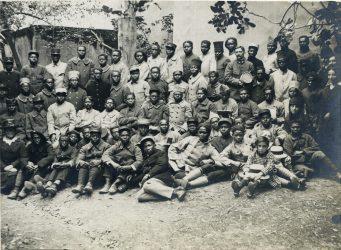 Accueil de tirailleurs malgaches au sein de la communauté protestante de Toulon - mai 1918