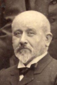 Le pasteur Dumas, membre du Comité directeur de la Société des missions