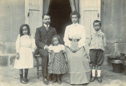 Famille d'un médecin protestant