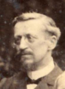 Le pasteur Goguel, membre du Comité directeur de la Société des missions