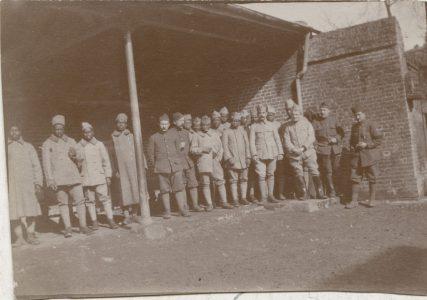 Groupe de soldats