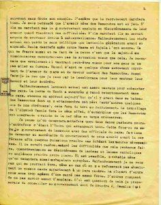Courrier d'Edouard Jacottet, missionnaire au Lesotho - 9 avril 1917 - page 2 Sur le manque d'enthousiasme des Bassoutos à s'enrôler, et ses raisons. Sur l'intérêt politique des Bassoutos à participer à la guerre
