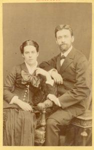 Daniel Keck et son épouse avant leur départ pour le Lesotho en 1881