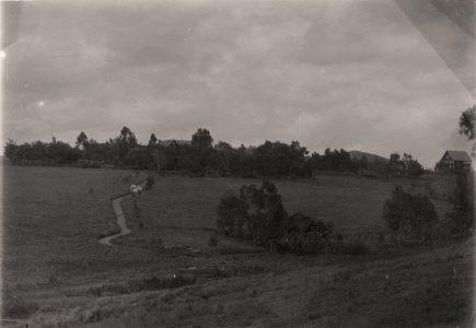 Environs de la maison d'Adèle Bonhotal, institutrice missionnaire 1917 - Tananarive