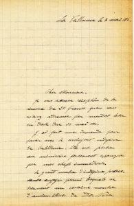 Courrier Laffay - Valbonne le 7 mai 1915