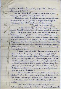 Récit manuscrit de Maurice Leenhardt - p. 3