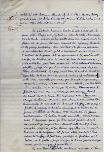 Récit manuscrit de Maurice Leenhardt - p. 4