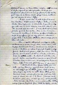 Récit manuscrit de Maurice Leenhardt - p. 2