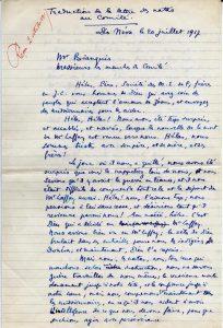 Récit manuscrit de Maurice Leenhardt - p. 7