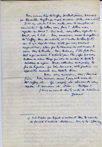 Récit manuscrit de Maurice Leenhardt - p. 8