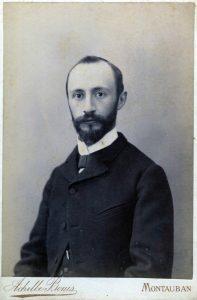Henri Bois, professeur de Laffay à la Faculte de théologie de Montauban Il est le pasteur qui consacre Laffay au ministère pastoral