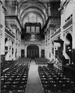 Consécration au temple de l'Oratoire