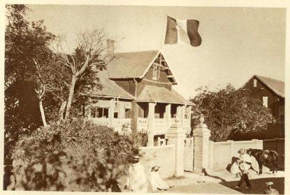 La Maison Bianquis à Tananarive, avenue de la Bourdonnais