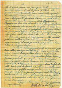 Juillet 1917, page 2 - E. Mabille lance l'idée d'un voyage d'un groupe de Bassoutos à Paris