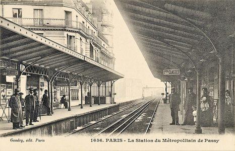 La station de métro de Passy