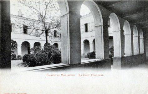 La Faculté de théologie de Montauban où Laffay fit ses études entre 1908 et 1912