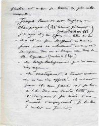 Guy Parson à Jean Bianquis - décembre 1915, page 2 Depuis l'hôpital militaire de Versailles