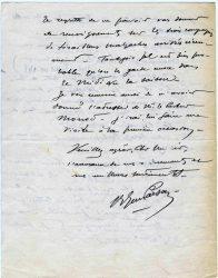 Guy Parson à Jean Bianquis - décembre 1915, page 4 Depuis l'hôpital militaire de Versailles