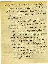 Guy Parson à Jean Bianquis - novembre 1915, page 2 Depuis l'hôpital militaire de Versailles