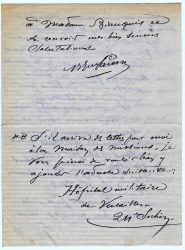 Guy Parson à Jean Bianquis - novembre 1915, page 4 Depuis l'hôpital militaire de Versailles