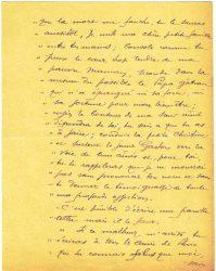 Guy Parson à Jean Bianquis - lettre du 15 août 1916, page 2 Copie de la lettre du 30 juin reçue de Joseph Ranaivo : celui-ci confie à son beau-frère ses dernières volontés en cas de décès