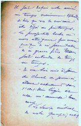 Guy Parson à Jean Bianquis - lettre de mars 1916 - page 2
