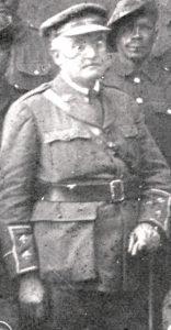 Portrait d'Ernest Mabille en lieutenant