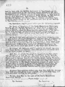 Courrier du pasteur Jean Bianquis au Colonel S. A. M. Pritchard commandant le SANLC 13 août - Début des négociations avec les autorités britanniques en France - page 2