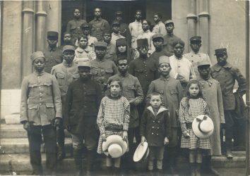 Accueil de soldats malgaches au sein de la paroisse de Toulon
