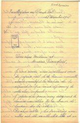 Aimée Ranaivo à Jean Bianquis - décembre 1915 - page 1