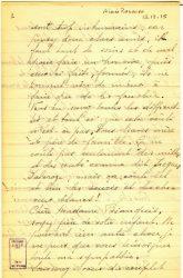 Aimée Ranaivo à Jean Bianquis - décembre 1915 - page 5