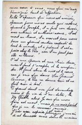 Aimée Ranaivo à Jean Bianquis - octobre 1916 - page 2