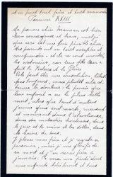Aimée Ranaivo à Jean Bianquis - octobre 1916 - page 4
